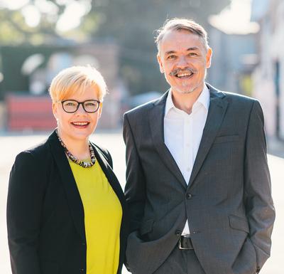 Keynote Speaker Nadine Nobile und Sven Franke